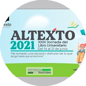 XXIII Jornada del Libro Universitario Altexto 2021 de la Universidad de Colima