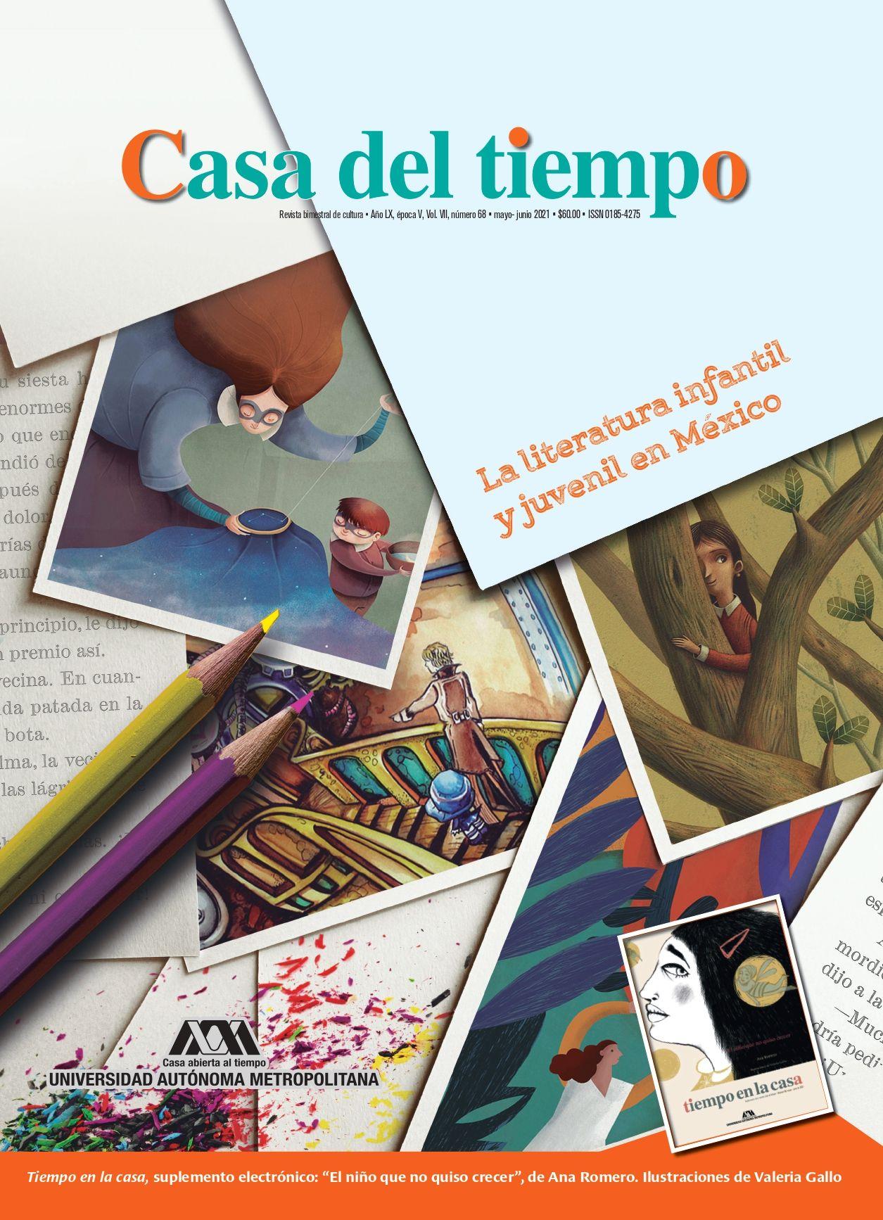 """Número 68, época V, mayo-junio, """"La literatura infantil y juvenil en México."""