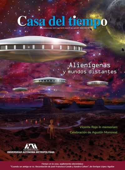 """Número 69, época V, julio-agosto, """"Alienígenas y mundos distantes""""."""